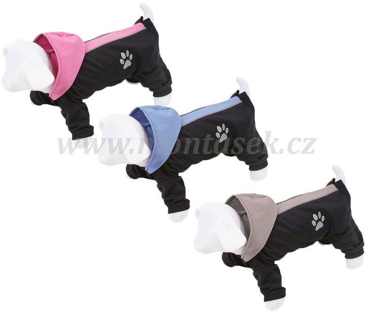 Oblečky pro psy | kombineza pro psa softshell | Psí potřeby MONŤÁSEK, chovatelské potřeby