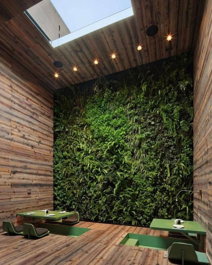 With our concrete jungles the need for greenery is becoming a more prominent trend. Check out this restaurant design by Rojkind Arquitectos + ESRAWE Studio