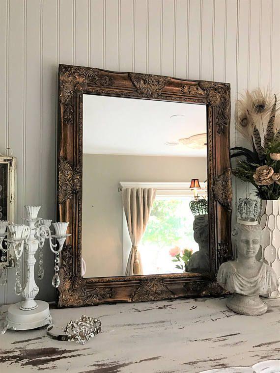 Best Bathroom Mirror Redo Ideas On Pinterest Dyi Mirror - Bathroom mirror 48 inch wide for bathroom decor ideas