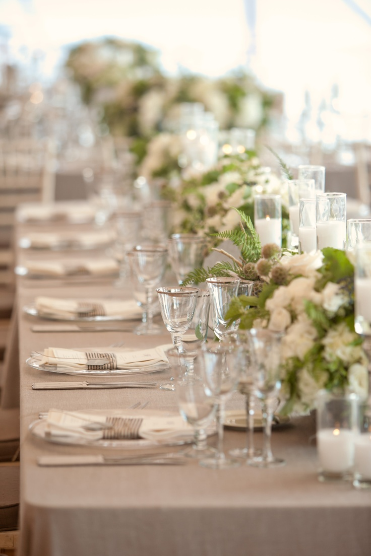 Wedding dress dream meaning  The  best images about White Table Settings on Pinterest