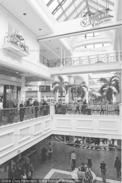 Sheffield, Meadowhall Shopping Centre 2005, from Francis Frith
