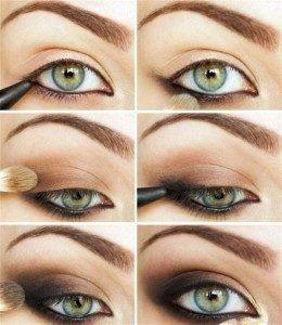 How to apply Smokey eye makeup step by step