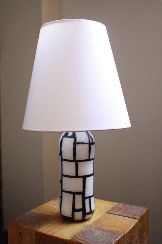 Recycled Bottle Lamp By Gygante On Etsy 30 00 My Etsy Friends Shops Glass Bottles