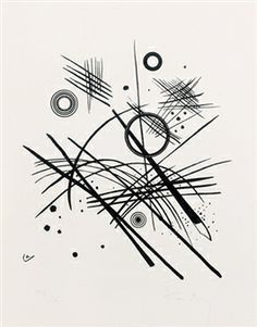 wassily kandinsky art black and white - Google Search