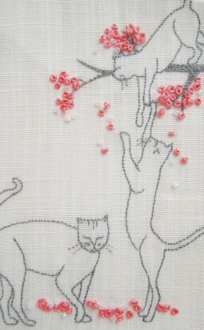 Best images about embroidery cat patterns on pinterest