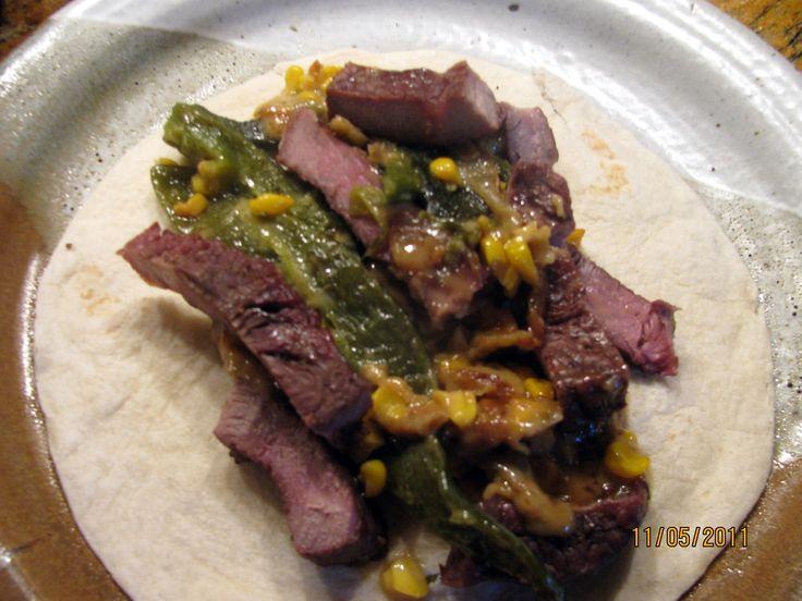 Terri's Rajas and Steak Strips