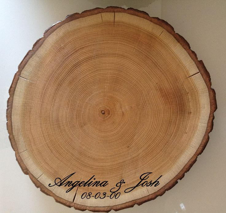 Wedding Cake Stand, Wood Cake Stand, Wood Centerpieces for Weddings Engrave Names & Date, Engraved wood cake stands