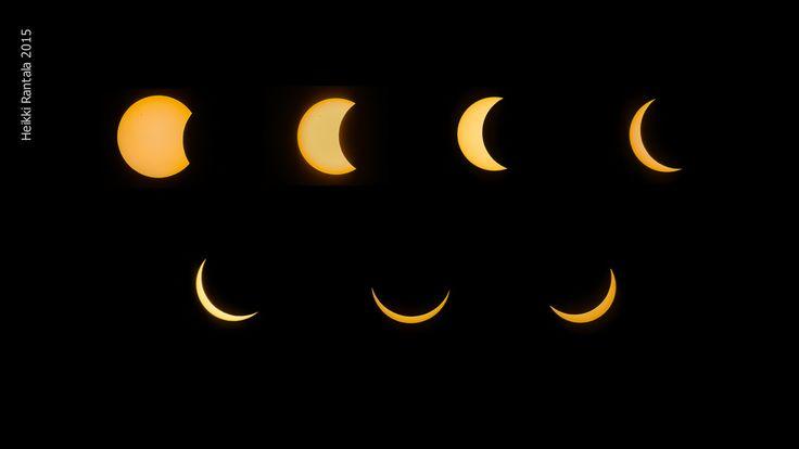 Solar Eclipse 91.8% 20.3.2015 Pallas, Finland, by Heikki Rantala