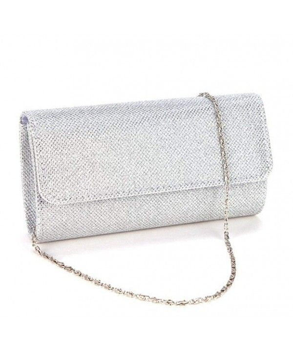 89489931d387e Women's Bags, Clutches & Evening Bags, Womens Evening Wedding Party Small Clutch  Bag Prom Shoulder Chain Handbag Tote - Silver - CL12NYVUYIY #Women #Fashion  ...