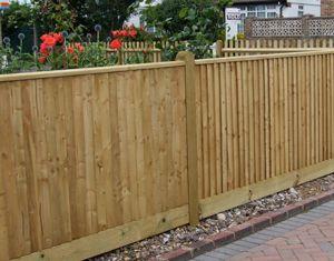 closeboard fencing - Google Search