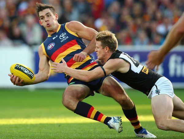 Taylor Walker Photos: AFL Rd 5 - Adelaide v Port Adelaide http://footyboys.com