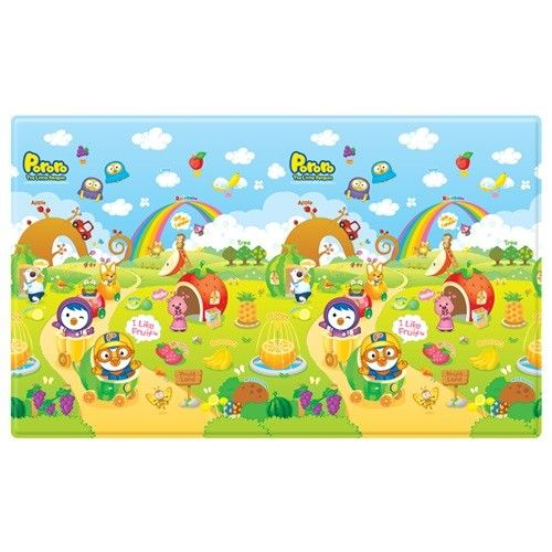 Pororo Fruit Land With Abc Soft Pvc Play Mat Products