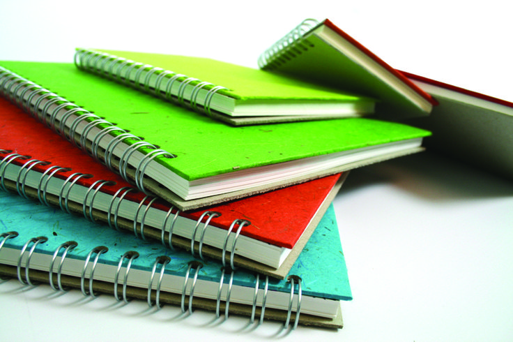 Our Classic Sketchbooks come with a Coloured Cover front & a Grey Board back, suit your budget and come in 57 different colours! Opt for your favourite sizes, A3,A4,A5 or maybe a little Square Sketchbook will suit your tastes! find these at;  http://www.the-pink-pig.co.uk/collections/classic-white-paper-150gsm