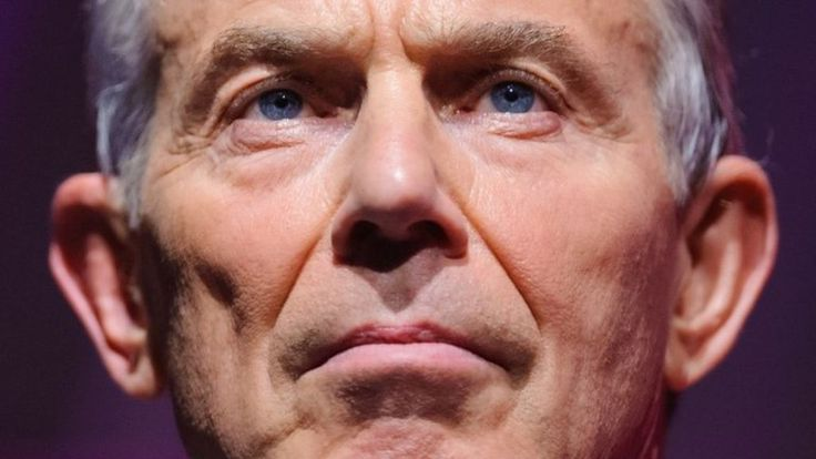 """The UK should keep """"options open"""" over Brexit, Tony Blair says, including a possible second referendum."""
