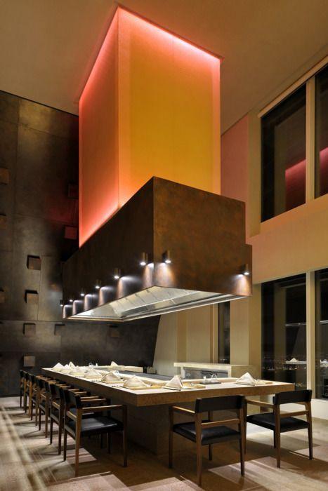 Japanese restaurant「Benkay」  place:Hotel JAL Tower Dubai, P.O. Box. 9940, Sheikh Zayed Road, Dubai, United Arab Emirates  design:DRAW LINK GROUP Dubai, UAE floor space(seats): Japanese Restaurant, 535 Sq.m(96 Seats.) Teppan Restaurant 473 Sq.m(60 Seats.) Sushi Restaurant 350 Sq.m(86 Seats.) photo:Nicolas Dumont