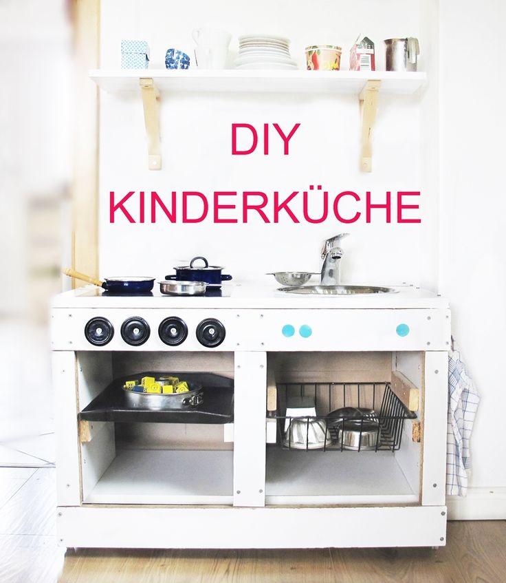 DIY + Upcycling: eine minimalistisch gehaltene selbstgebaute Kinderküche mit Anleitung und ein paar Maßen, wirklich sehr einfach umzusetzen