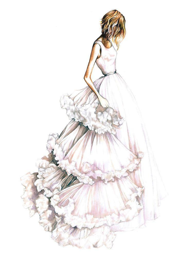 Fashion Wedding Greeting Card Set