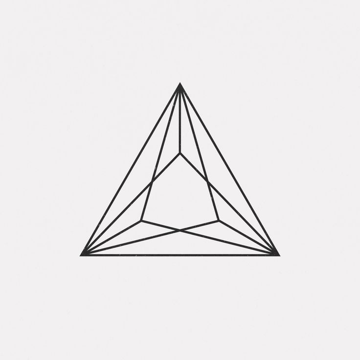 "dailyminimal: "" #DE15-429 A new geometric design every day Buy my design on LinxSupply """