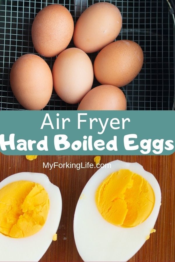 Air Fryer Hard Eggs