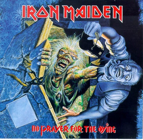 Iron Maiden - No Prayer For The Dying (1990). Adrian Smith left during the making of this album to be replaced my Jannick Gers.