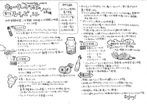 Japanese instructions for our water kefir BUY DEHYDRATED KEFIR HERE