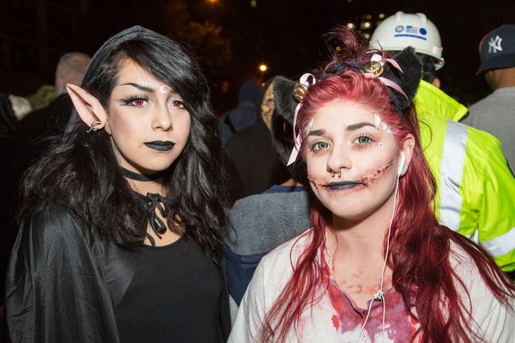 20 Epic Beauty Looks From NYC's Halloween Parade #refinery29  http://www.refinery29.com/2015/11/96744/beauty-costumes-halloween-parade-pictures-new-york#slide-1  The epic elf ears are cool, but the ripped skin around the mouth is even cooler — and way more terrifying....