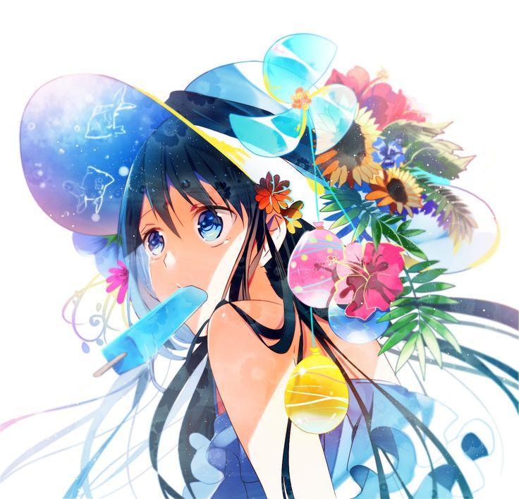 Tatsumi3 1749127 Zerochan Summer Anime Girl Pretty