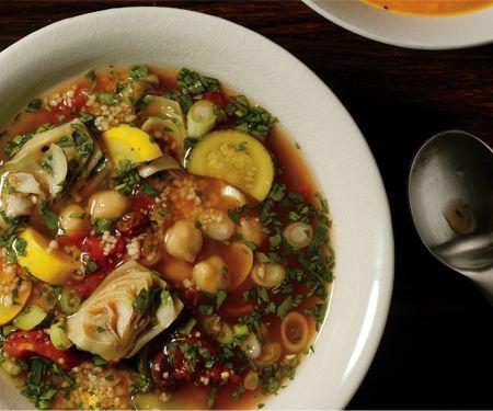 Savory Moroccan Soup