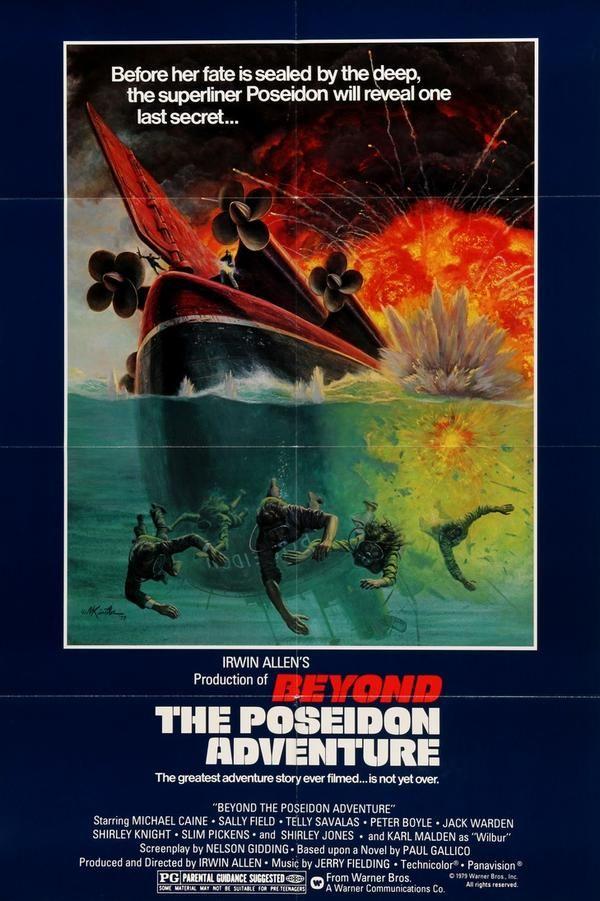 Beyond the Poseidon Adventure (1979) Original One Sheet Movie Poster