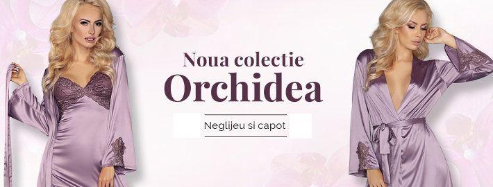 Colectia de lenjerie intima de lux Orchidea