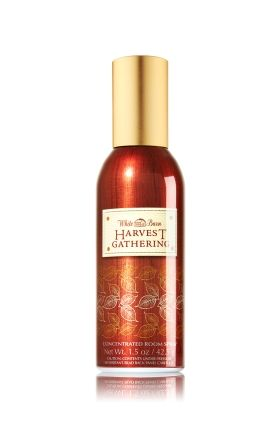 Harvest Gathering 1.5 oz. Room Perfume - Slatkin & Co. - Bath & Body Works