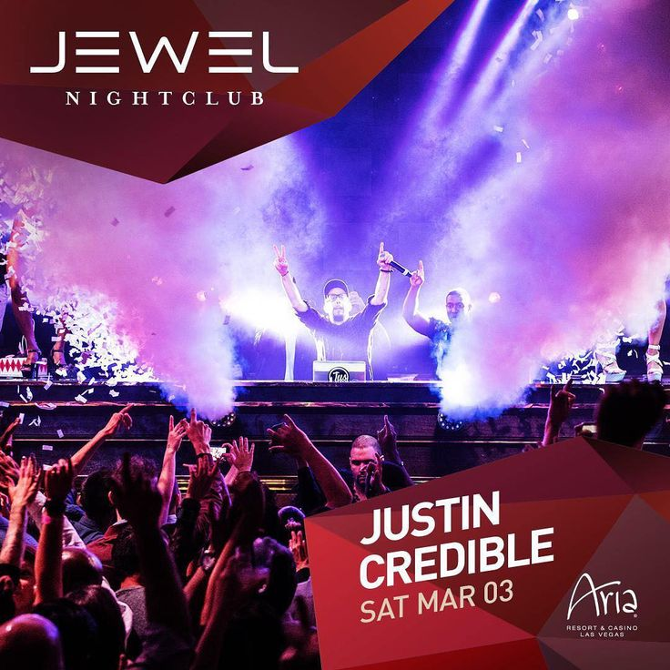 Tonight we have @justin_credible headlining at @jewelnightclub! Text your full name and group size to 1 (702) 701-3513 before 9pm for guestlist placement!  #XS #Surrender #Intrigue #TAO #TAONightclub #Marquee #MarqueeNightclub #LAVO #Drais #DraisNightclub #DraisLasVegas #DraisLV #Chateau #Hyde #MGM #MGMGrand #Wynn #Mirage #Cosmopolitan #Aria #Venetian #Bellagio #Cromwell #MandalayBay #CaesarsPalace #Palazzo #BachelorParty #BacheloretteParty #Bachelor #Bachelorette