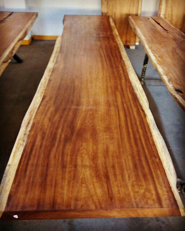 Iroko Wood Slab