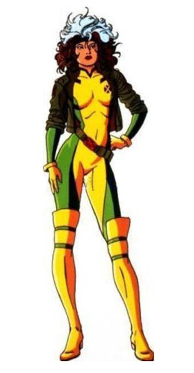 X-men -- Rogue Cosplay Costume Version 06