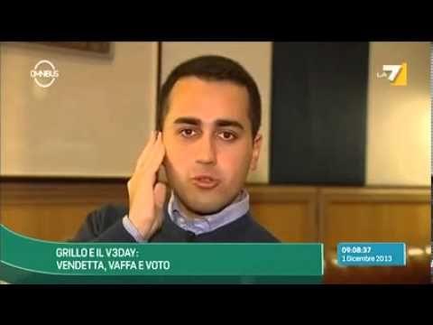 ▶ M5S Luigi Di Maio a Omnibus La7 - YouTube