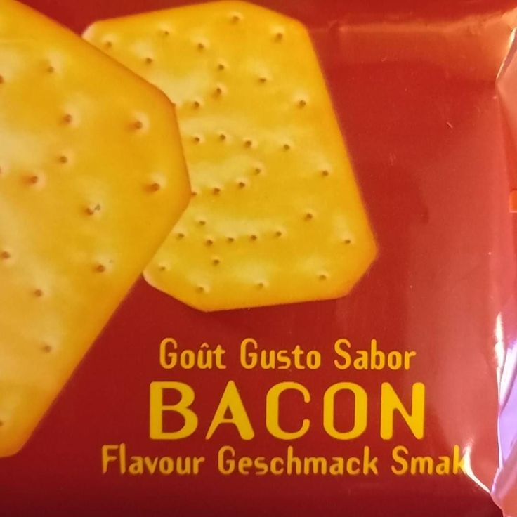 Has science gone too far? #bacon #crackers #becausewecan