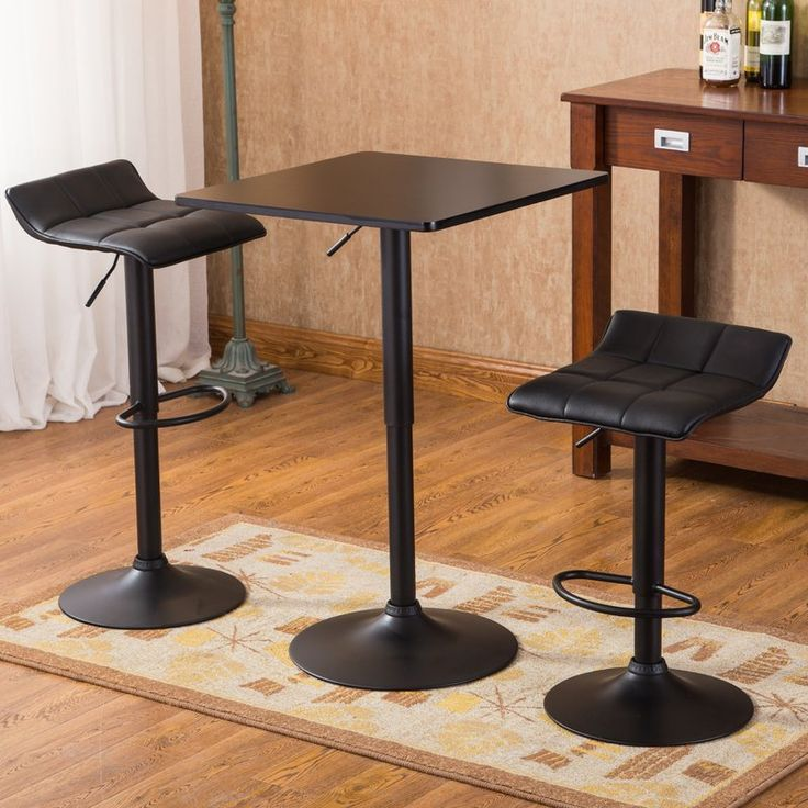 Trent Austin Design Yoder 3 Piece Pub Table Set & Reviews | Wayfair