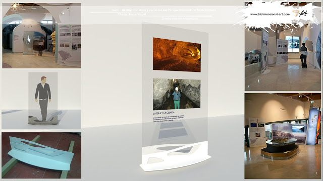 infografía 3d peana lava