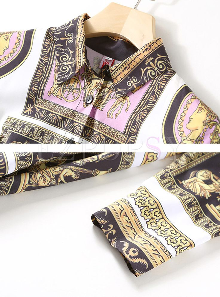 Shop for high quality Vintage Print Chiffon Maxi Dress online at cheap prices and discover fashion at Ezpopsy.com
