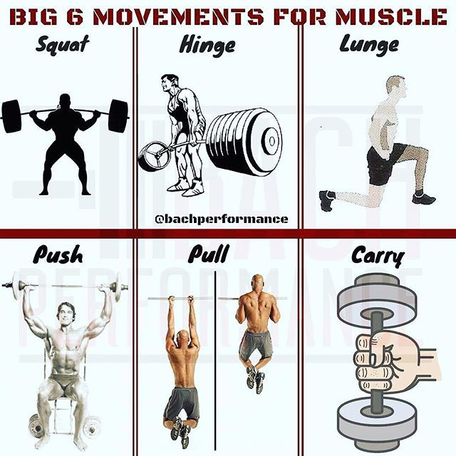 Big Six Movement Patterns By Bachperformance Dont Get It Twisted Strength Training Isnt Nearly As Compli Muscle Kettlebell Training Kettlebell Core Workout