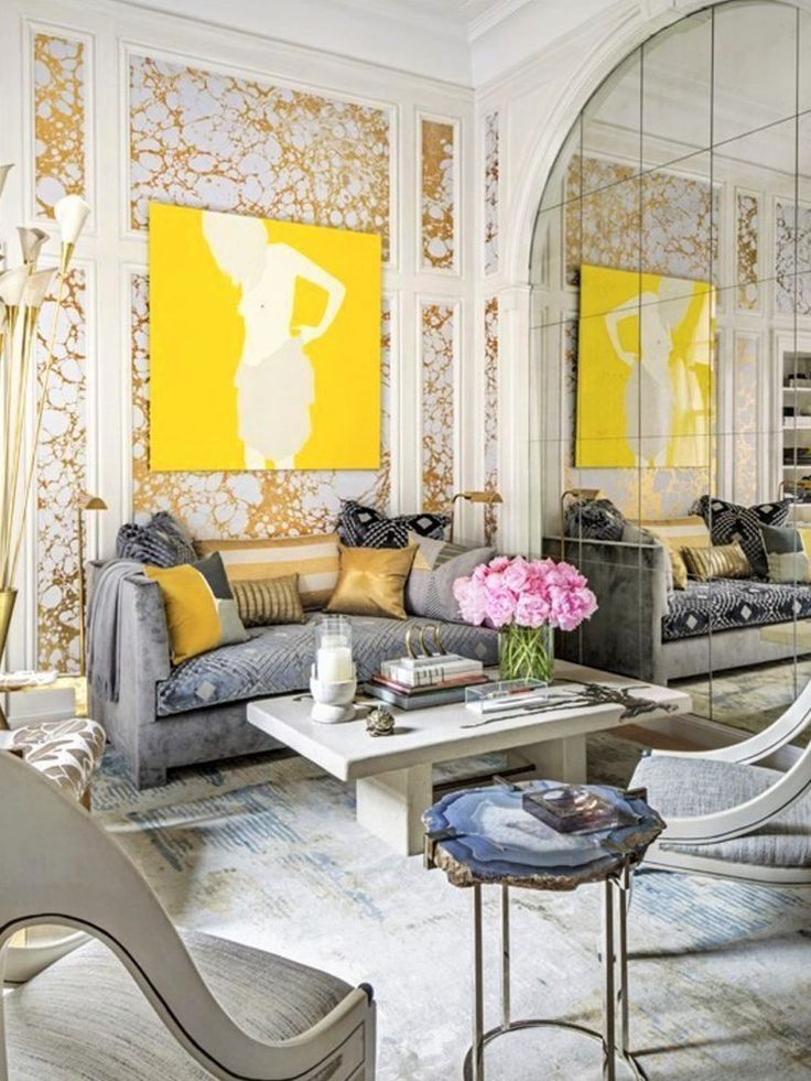 Contemporary Rugs: Contemporary rug interior decor, modern elegant living room. Art in living room, modern decor, chic interior, glamour interior. Luxury interior, luxury living room #interior