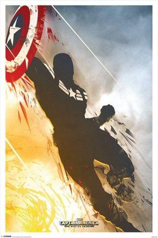 Kapitan Ameryka: Zimowy żołnierz - plakat - 61x91,5 cm  Gdzie kupić? www.eplakaty.pl