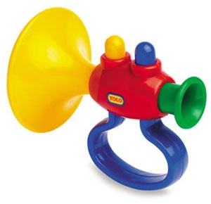 Makes three different sounds when the buttons are pressed. Easy grip handle for small and delicate hands. £10.99