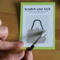 Design & graphisme par Geoffrey DorneComment fabriquer soi-même des tickets à gratter ! - Design & graphisme par Geoffrey Dorne