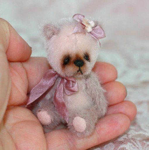 Шьём миниатюрного мишку / Новые дети
