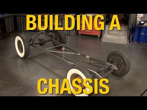 Building a Simple Hot Rod Chassis From Scratch   Eastwood Blog
