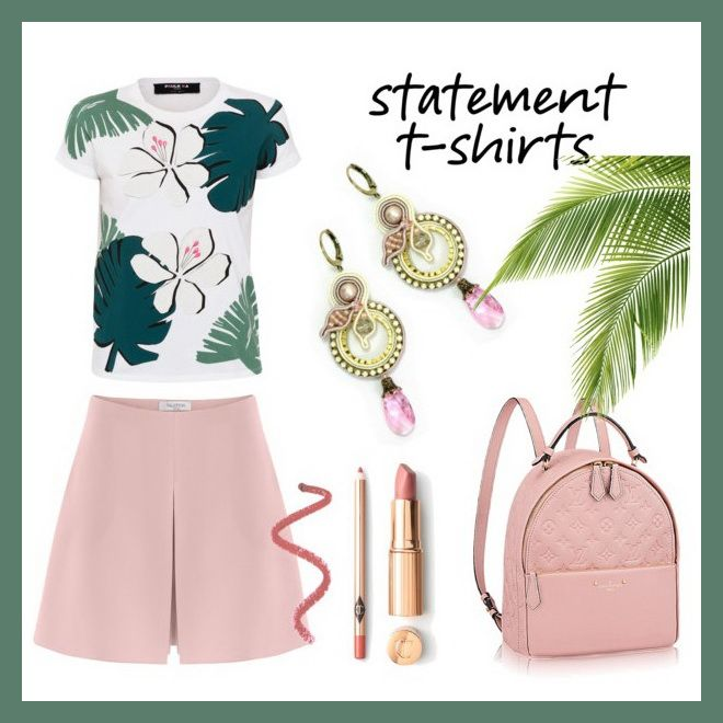 Need outfit ideas, fast?! We picked for you the perfect Dori earrings for this season's hottest trends!  #doricsengeri #statementtshirt #dropearrings #pastels #springfashion #springtrends #fashionstyling