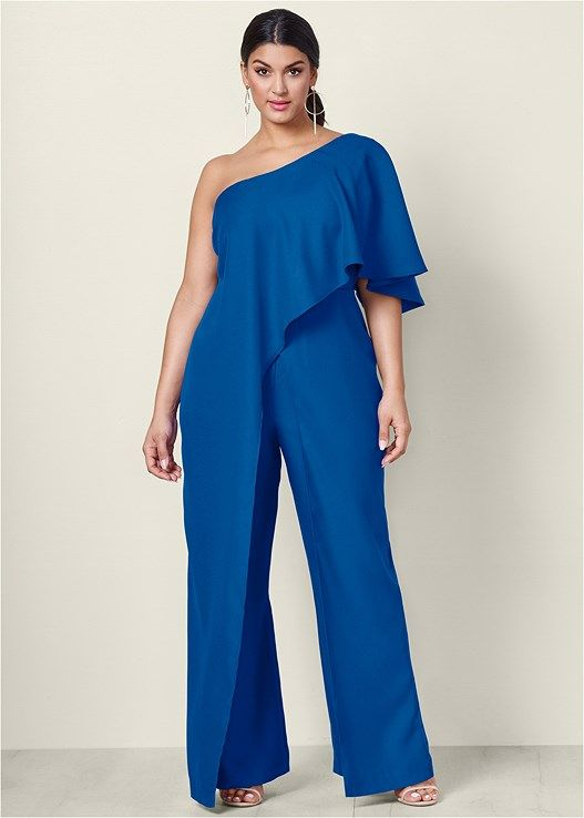 3ec73648cb2 Venus Women s One Shoulder Jumpsuit Jumpsuits   Rompers