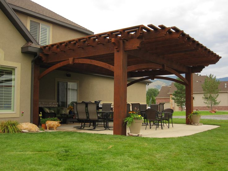 17 Best Images About Free Standing Pergolas On Pinterest