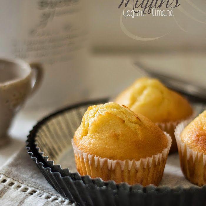 Muffin yogurt e limone -Cucina Ghiotta Food Blog